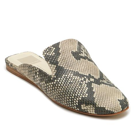 Dolce Vita Brie Printed Leather Slip-On Mule
