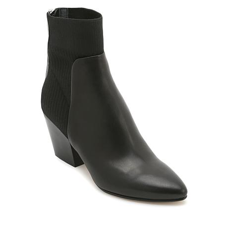 c5a0acac9352 Dolce Vita Caris Leather Knit Sock Bootie - 8843298