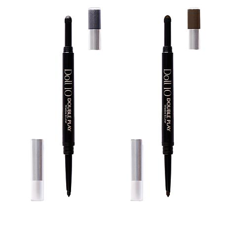 Doll 10 Double Play Shadow & Liner 2-pack