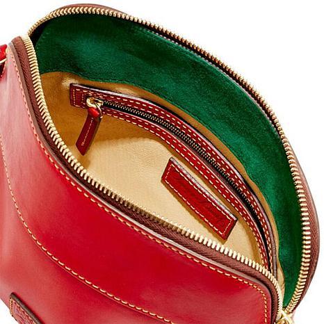 017c56a5a Dooney & Bourke Cameron Florentine Leather Crossbody Bag - 8797887 | HSN