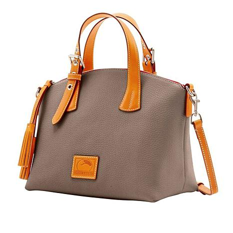 734a06b89c4f Dooney   Bourke Patterson Pebble Leather Trina Satchel - 8837793