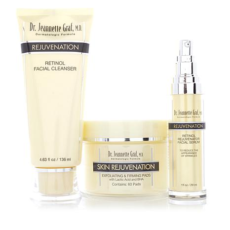 Dr. J. Graf M.D. Rejuvenation Retinol 3-piece Kit