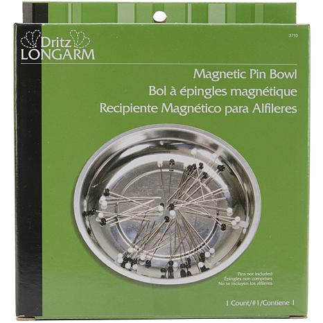 Dritz Longarm Magnetic Pin Bowl