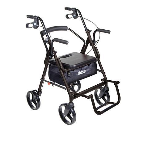 Drive Medical Duet Transport Chairrollator Walker