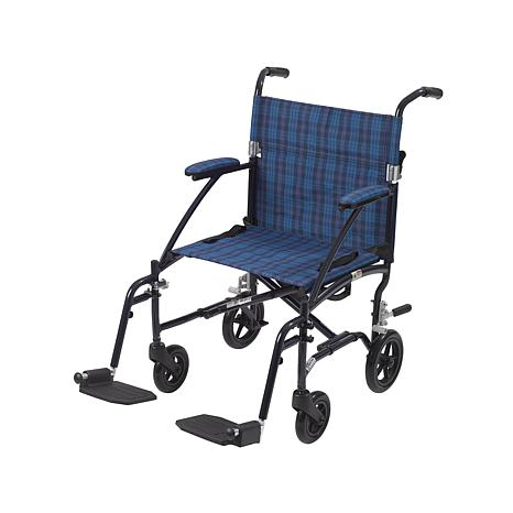 Drive Medical Ultra Lite Lightweight Transport Chair