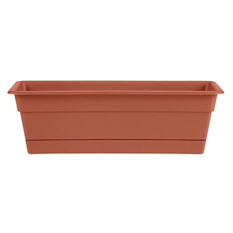 Dura Cotta Window Box Planter 18 in