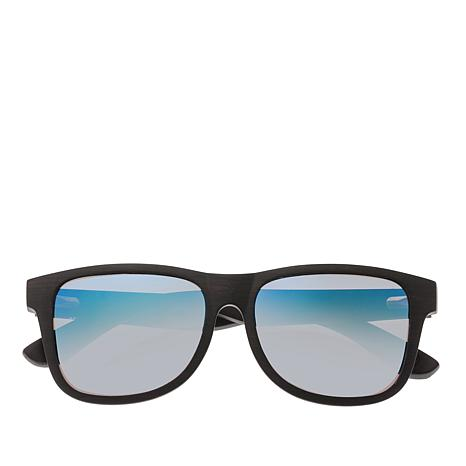 Earth Wood Goods Solana Ebony Wood Sunglasses