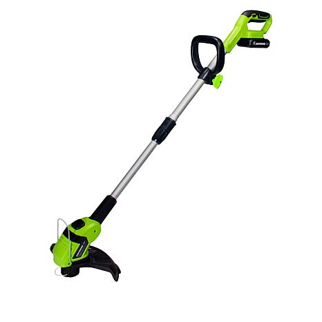 EARTHWISE 20-Volt Cordless Electric Trimmer