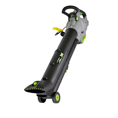 EARTHWISE 3-in-1 Wheeled Blower, Vacuum & Mulcher with Collection Bag