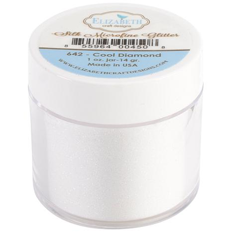 Elizabeth Craft Designs Silk Glitter 14g - Cool Diamond