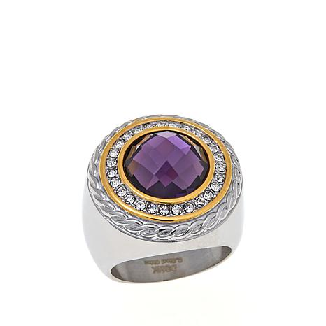 "Emma Skye ""Colorful Chemistry"" Crystal Ring"