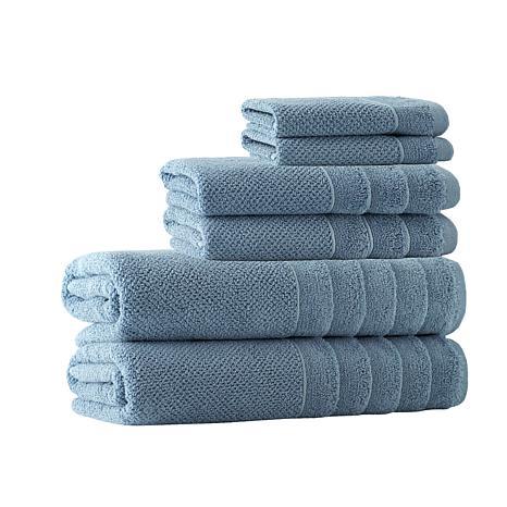 Enchante Home Veta 6-piece Turkish Cotton Bath Towel Set