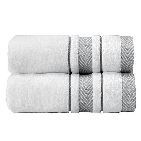 Enchasoft Turkish Cotton Bath Sheet 2-piece Set