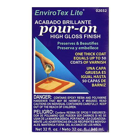 ENVIROTEX Lite Pour-On High Gloss Finish Kit - 32 oz.