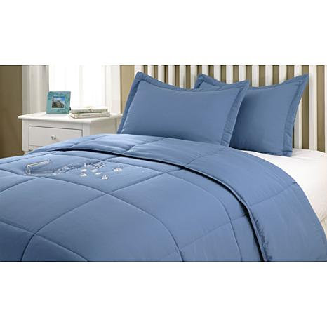 Epoch Stayclean 3-piece Comforter Set - Twin