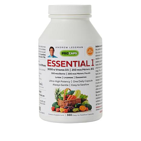 Essential-1 with Vitamin D3-3000 - 360 Capsules