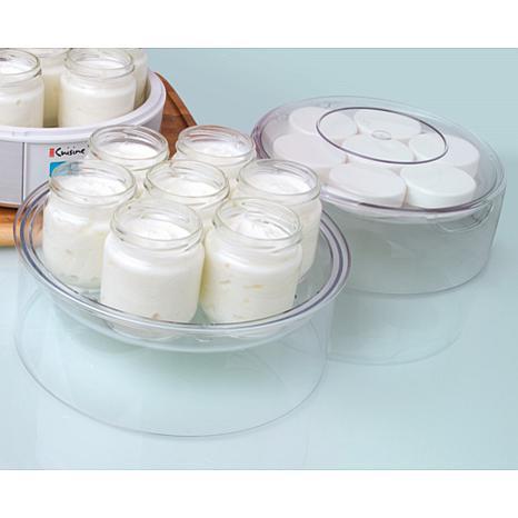 Euro cuisine top tier for yogurt maker 7537093 hsn for Cuisine yogurt maker recipe