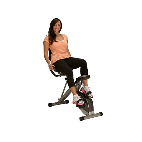 Exerpeutic 400XL Semi-Recumbent Exercise Bike