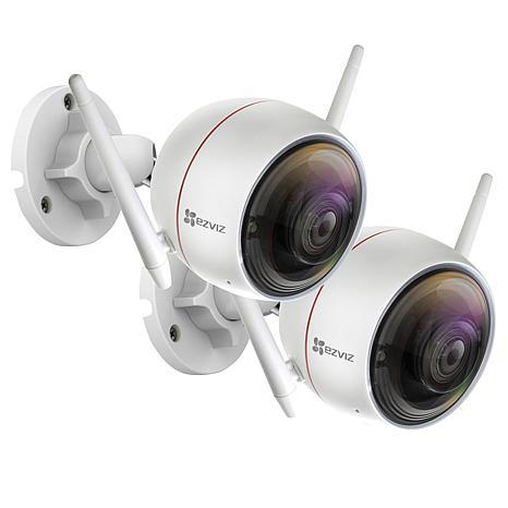 EZVIZ C3W (ezGuard) 2-pack 1080p Full HD Outdoor Wi-Fi Camera