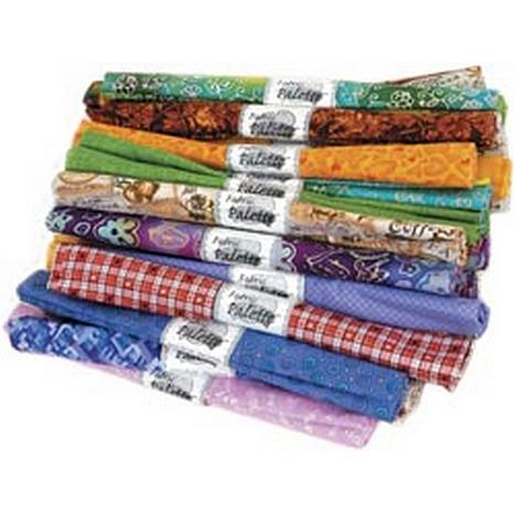 "Fabric Palette Fat Quarter 18"" x 21"" 1-pack Assortment"