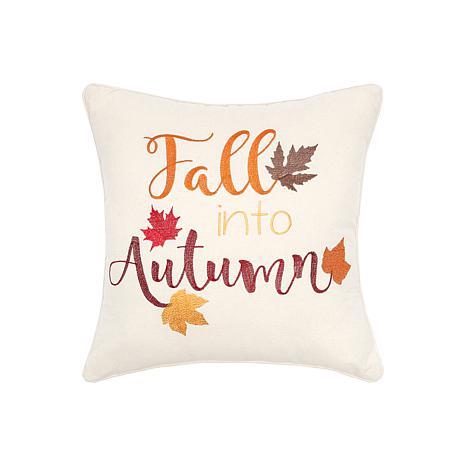 Fall Into Autumn Pillow