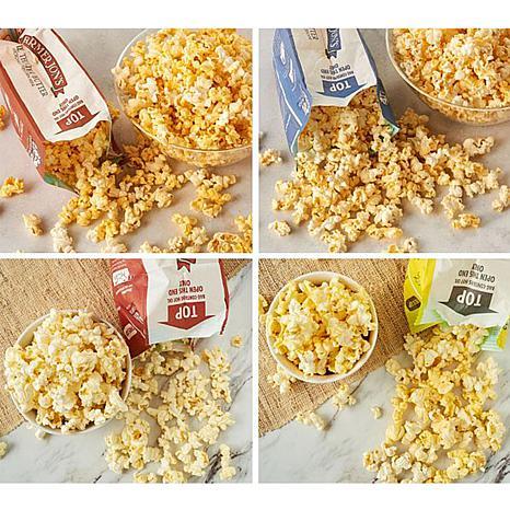Farmer Jon S 20 Pack Combo Of 1 2 Oz Mini Microwave Popcorn Bags