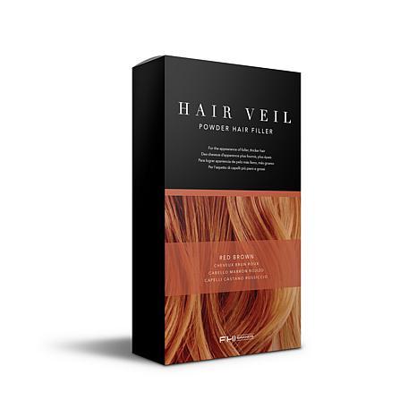 FHI Brands Hair Veil Powder Hair Filler - Red Brown