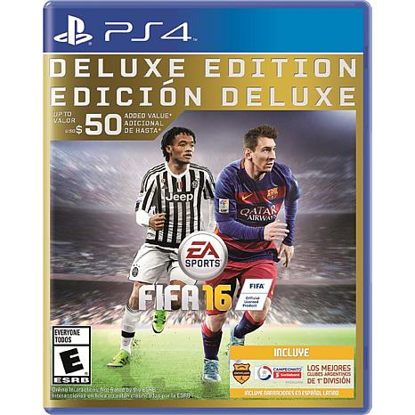 """FIFA 16 Deluxe Edition"" Game - PlayStation 4"