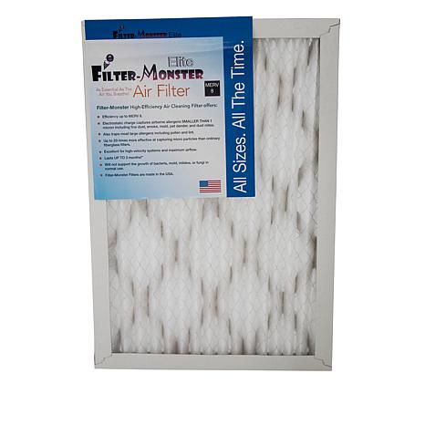 "Filter-Monster 20"" x 25"" HVAC Elite Air Filter 4-pack"