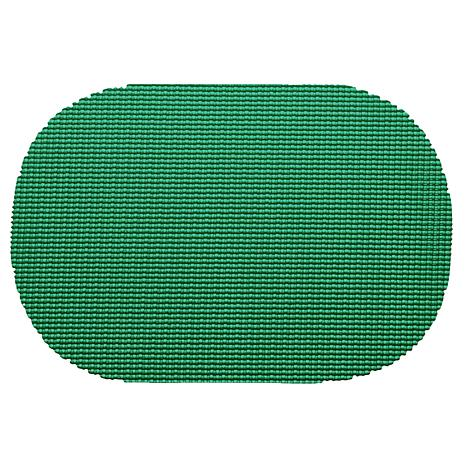 "Fishnet Oval Placemat - 17"" x 12""/Set of 12"