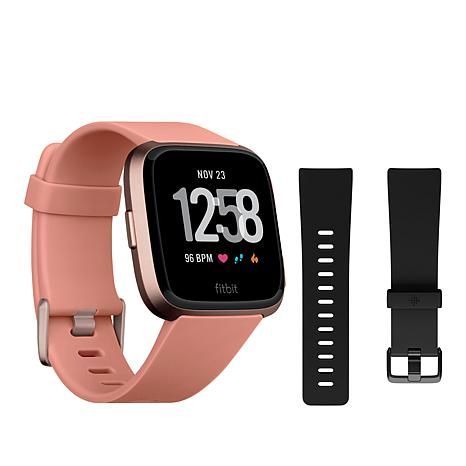 Fitbit Versa Smartwatch and Activity Tracker with 2 Bands