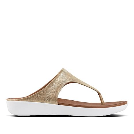 FitFlop Banda II Leather Thong Sandal