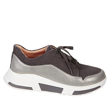 FitFlop Freya Suede Sneaker - 9373837 | HSN
