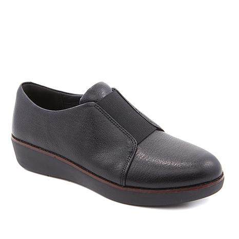 02a30a4bf449 FitFlop Leather Laceless Derby Loafer - 8859038