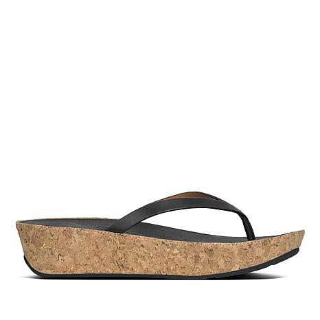 FitFlop Linny Leather Toe-Post Sandal