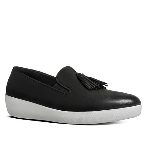 FitFlop Superskate Leather Tassel Sneaker