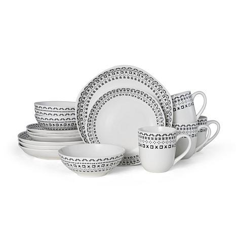 Fitz and Floyd Organic Maric 16-piece Dinnerware Set