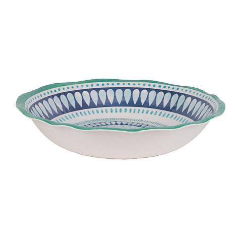 Fitz and Floyd Tranquility Serve Bowl