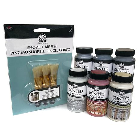 FolkArt Painted Finishes 4 oz. Deluxe Kit