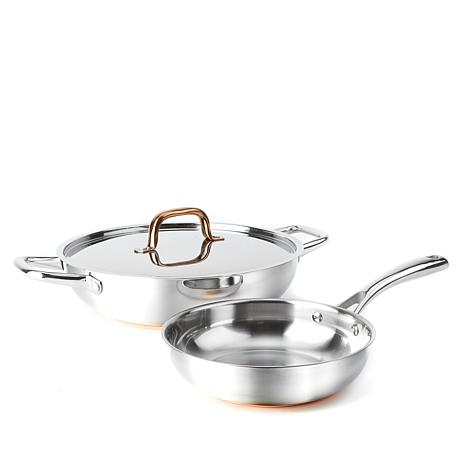 Food Wine 3 Piece Stainless Steel Cookware Set 8493996 Hsn