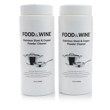 FOOD & WINE™ Stainless Steel and Copper Cleaner 2-pack