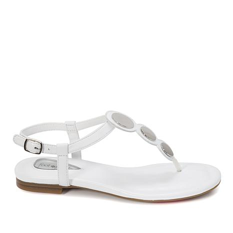 Foot Petals Ellie Leather Thong Sandal   with Cushionology®
