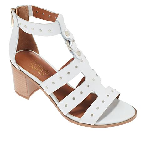 Franco Sarto Harrington Studded Leather Gladiator Sandal