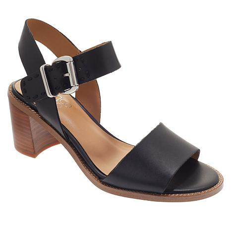 Franco Sarto Havana Leather Dress Sandal