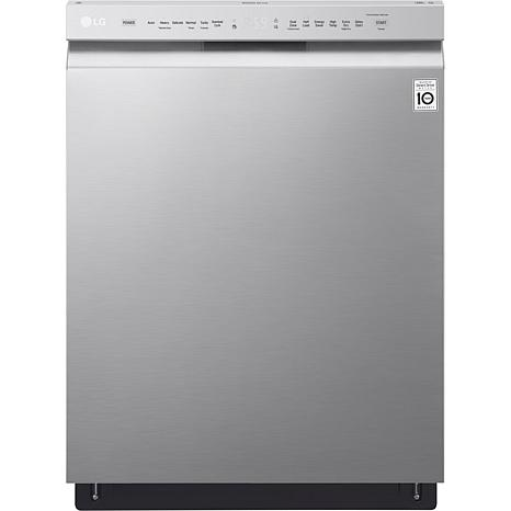 Front Control Dishwasher - Stainless Steel