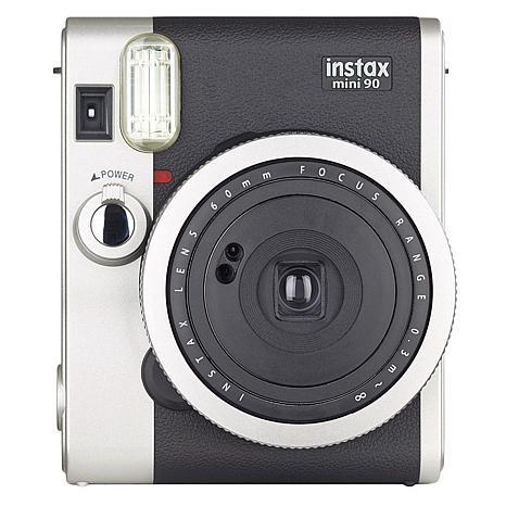 Fujifilm Instax Mini 90 Neo Classic Instant Film Camera - Black