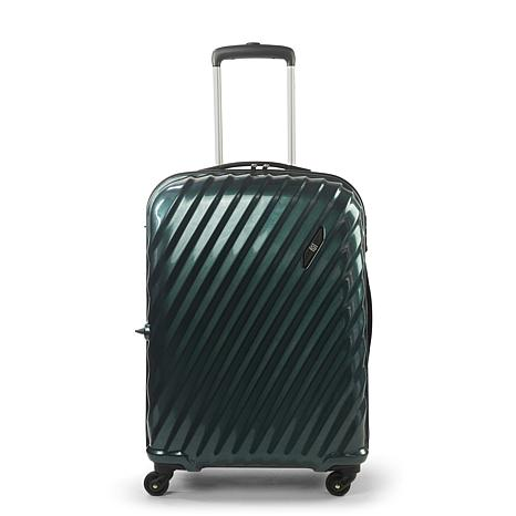 """FUL Marquise Series 25"""" Hard-sided Spinner Suitcase - Teal"""