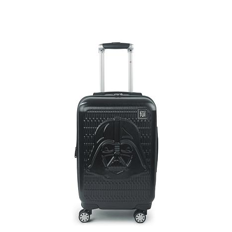FUL Star Wars Darth Vader Embossed 21-inch Spinner Suitcase