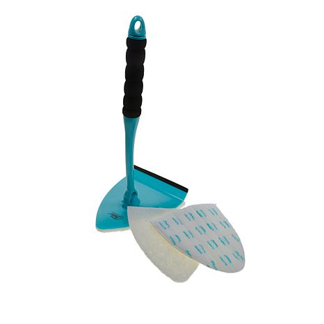 Fuller Brush Co. Big EZ Scrubber with Scouring Pads and Squeegee