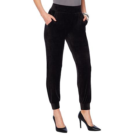 G by Giuliana Pull-On Velour Jogger Pant